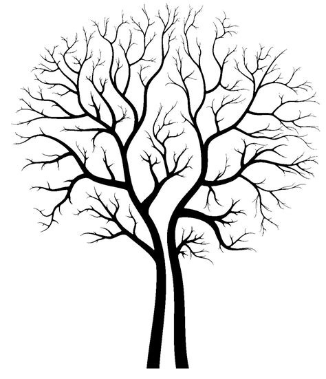 Tree Stencil Template Tree Stencil Laser Cut Into An X Ray Film Ray Film Laser Cutting And Stenciling