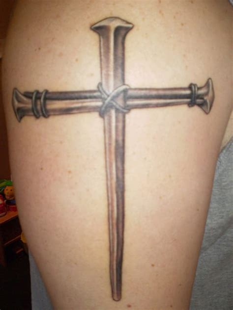 large cross tattoos big brain cross creativefan