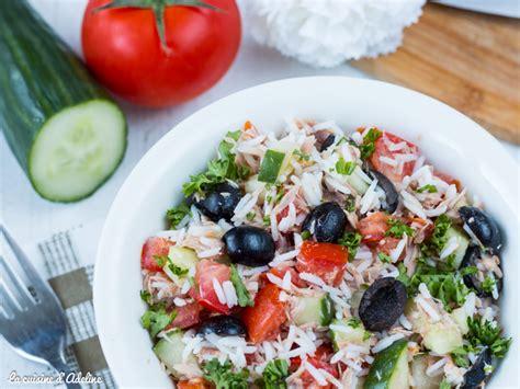 salade de riz au thon facile et rapide la cuisine d
