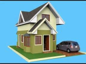 house plans with attic small house design attic 3d rendered youtube