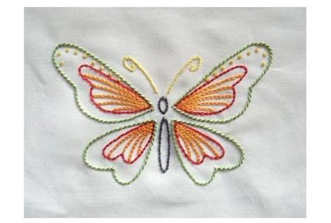 free butterfly hand embroidery 30 best images about embroidered butterflies on pinterest