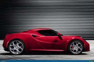 Alfa Romeo 4c Us Ausmotive 187 Alfa Romeo 4c To Weigh Less Than 960kg