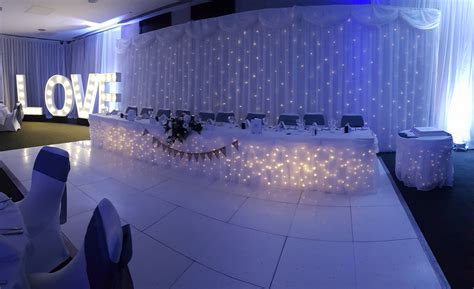 Wedding Backdrop Uk by Wedding Backdrop Hire Starlight Events South Wales