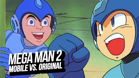 lade megaman mega 2 mobile vs el original nes classic mini
