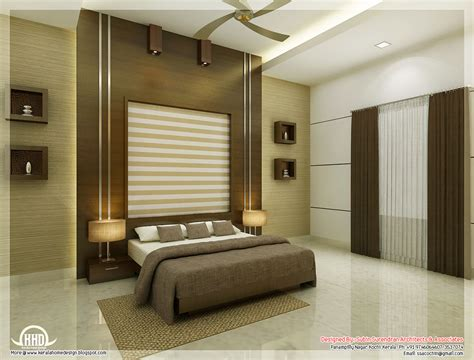 interior design for house beautiful bedroom interior designs kerala home design