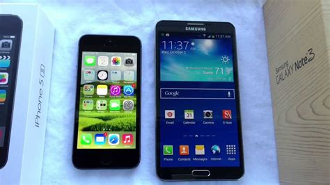 Samsung Iphone 5s iphone 5s vs samsung galaxy note 3