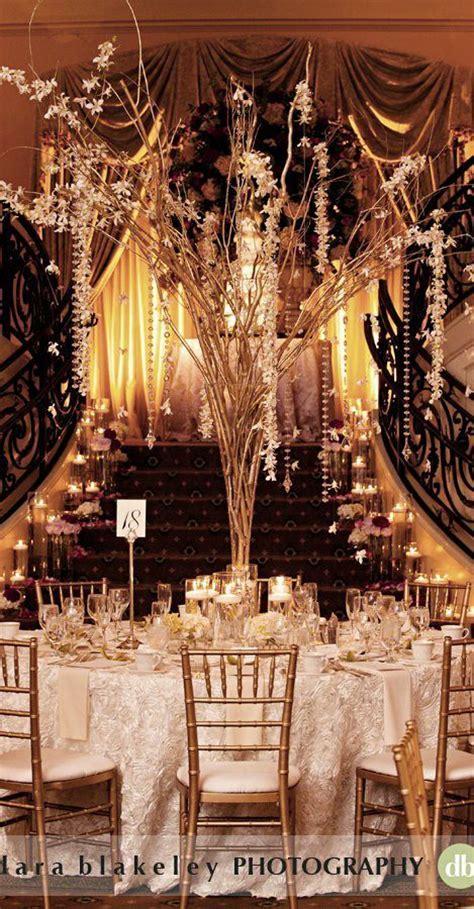 Great Gatsby Wedding Reception   Tablescape Great Gatsby