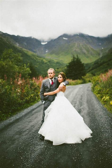 Wintry Jewel Tone Alaska Wedding at Raven Glacier Lodge