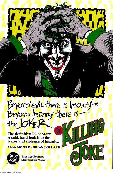 The Jokes the killing joke story arc comic vine