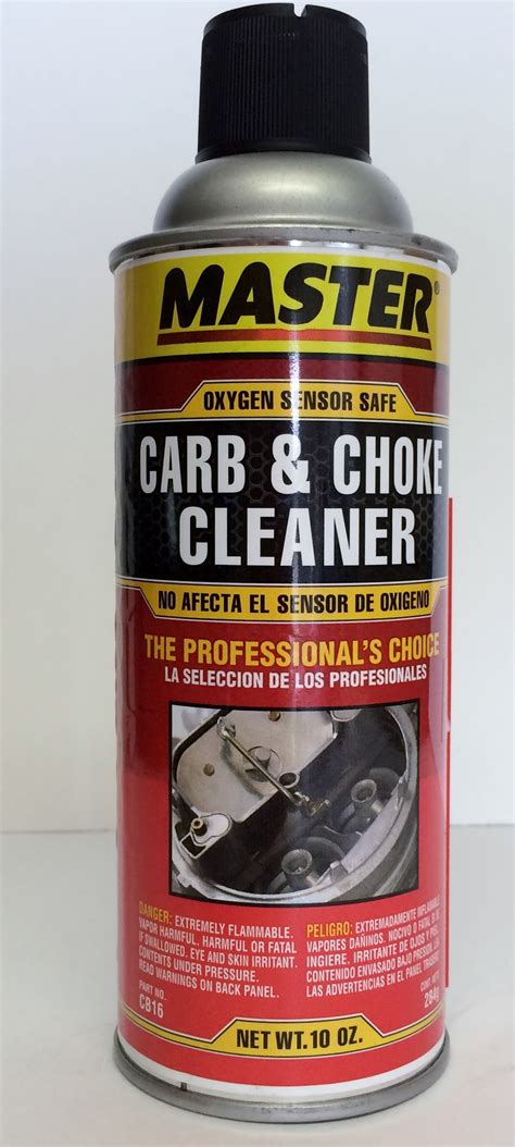 Carb Cleaner master carburetor cleaner cb16 auto supply