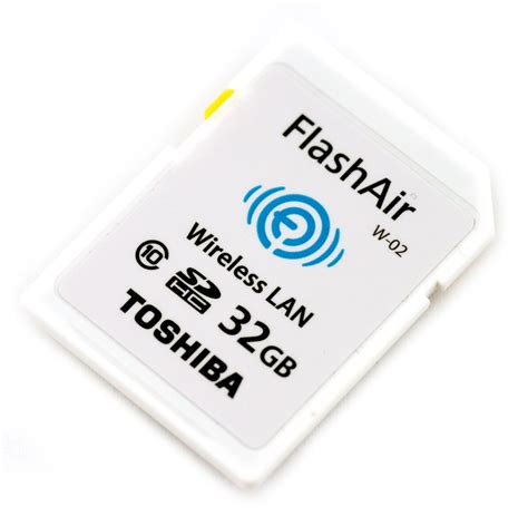 Memory Card Flash Air toshiba flashair ii wireless review storagereview storage reviews