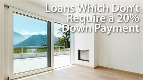 do you need 20 percent down to buy a house alternatives for when you don t have a 20 down payment