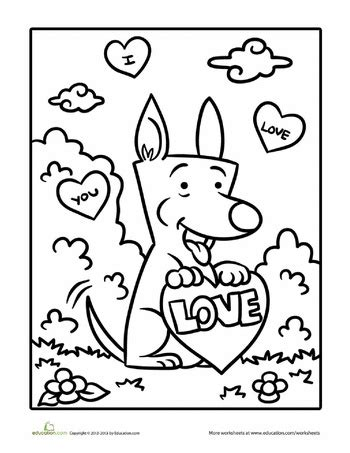 valentine dog coloring page 97 best coloring pages images on pinterest coloring