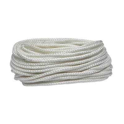 everbilt 1 4 in x 100 ft white braided and