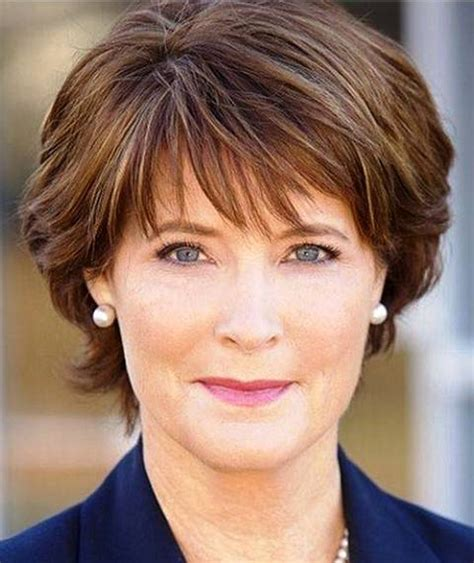short hairstyles wash and go for the over 50s easy wash and go hairstyles for women over 50