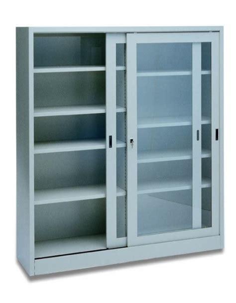 armadio metallico usato armadio metallico ad ante scorrevoli in vetro cm