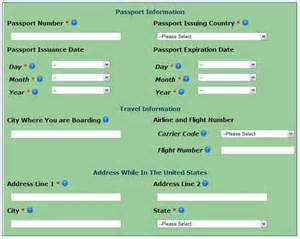 How to fill out your esta form vegas stripped uk a source for las