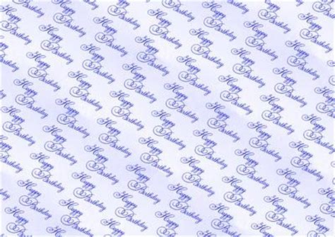 Backing Paper For Card - blue happy birthday backing paper cup320657 38