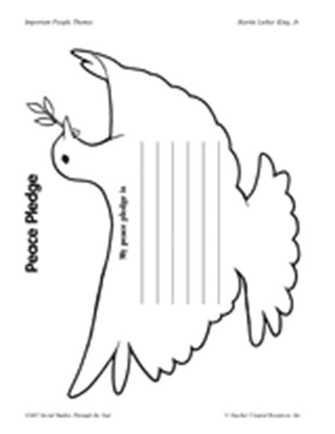 Peace Day Worksheets by Peace Pledge For International Peace Day September 21