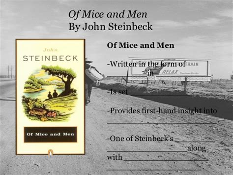 themes john steinbeck wrote about great depression fill in the blank