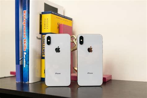 apple iphone xs vs apple iphone x phonearena