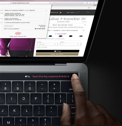 Macbook Pro Touch how to set up and use touch id on your mac