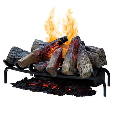 electric fireplace log sets dimplex 28 inch opti myst electric fireplace insert log