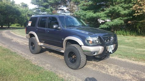 lifted 1999 5 0l eddie bauer explorer 4x4 5 quot superlift