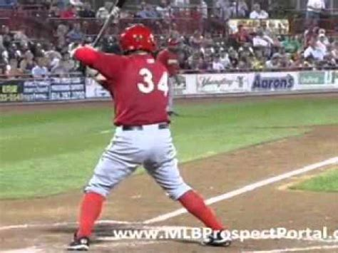 harper swing bryce harper swing front and back view wmv youtube