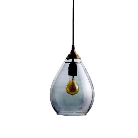simple pendant light simple grey glass pendant light by idyll home