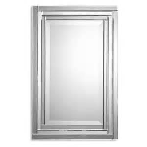 Vanity Mirror Frame Uttermost Alanna Beveled Mirror Framed Vanity Mirror 22w