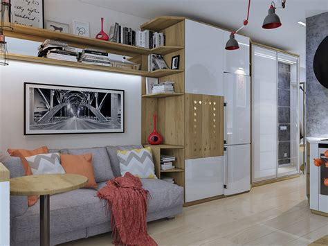 small studio apartment auto design tech 4 super tiny apartments under 30 square meters includes