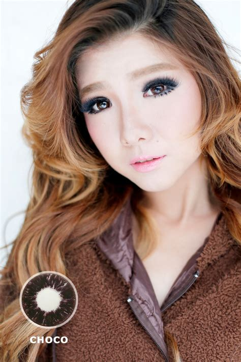 Shining Softlens New Dubai 208 Mm 3 Tone produk baru softlens the dolly eye 22 8 mm 4 tone mygeolens dropship softlens
