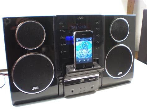 jvc ux lp ipodcd player stereo system review