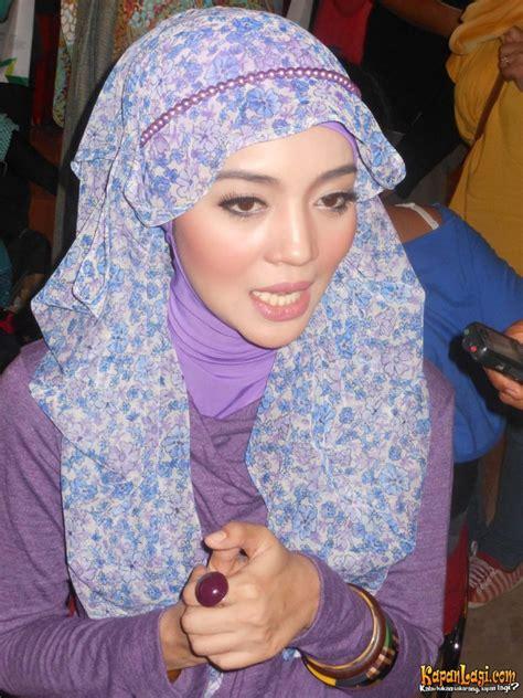 tutorial cara berhijab ala nuri maulida gaya hijab modern ala nuri maulida tutorial pashmina by