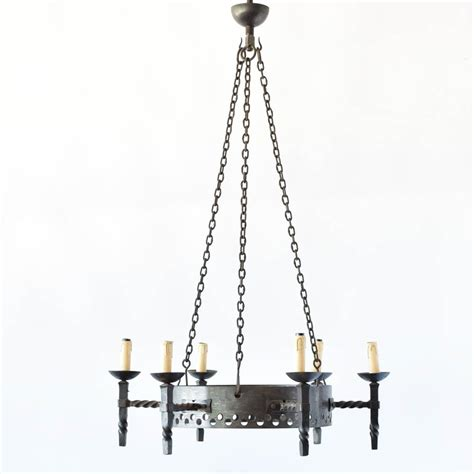 iron ring chandelier industrial iron ring chandelier the big chandelier