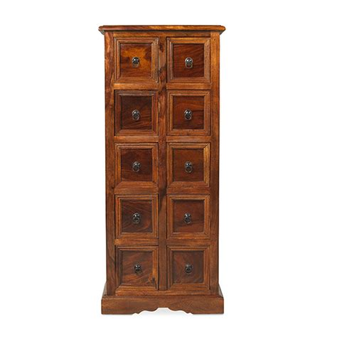 Cd Chest Of Drawers by Bengal Solid Sheesham Indian Furniture Cd Storage Cabinet Chest Of Drawers Ebay