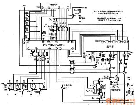 microwave monolithic integrated circuit tmp47c400rn microwave oven monolithic micro computer integrated circuit diagram filter