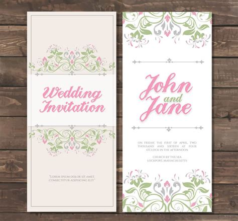 printable invitation cards for wedding printable wedding invitations for your big day amoyshare