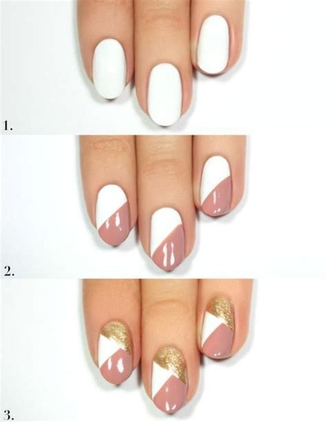 Deco Ongle Court Facile by Tuto Nail Facile Ongle Court Nail Ideas