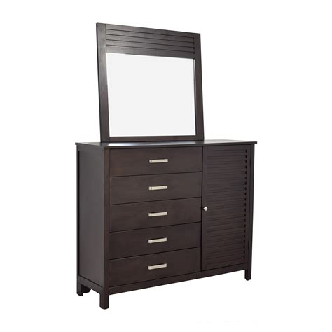 rooms to go chest of drawers 69 rooms to go rooms to go espresso grove five drawer dresser with mirror storage
