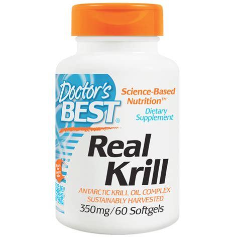 Suplemen Krill doctor s best real krill 350 mg 60 softgel capsules iherb