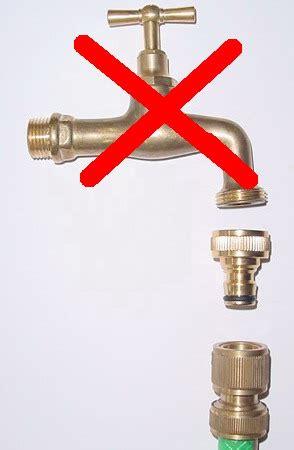 tubo gomma giardino kit attacco rapido ottone per tubo e gomma a rubinetto