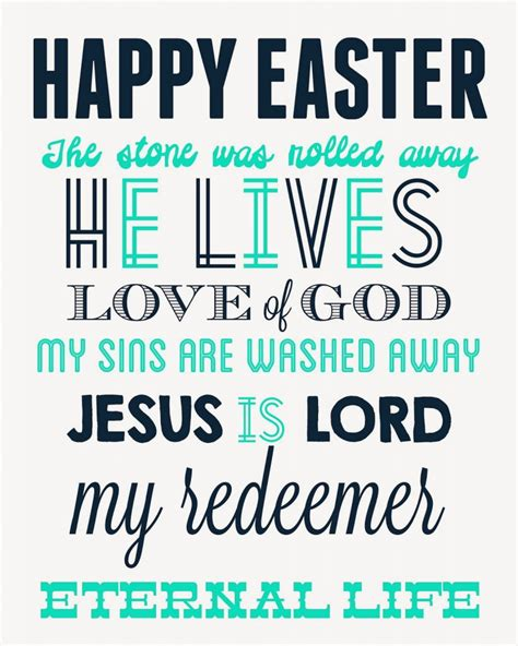 free printable easter quotes easter printable decor