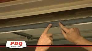 How To Replace Garage Door Seal by Garage Door Not Sealing Garage Door Weather Seal Options