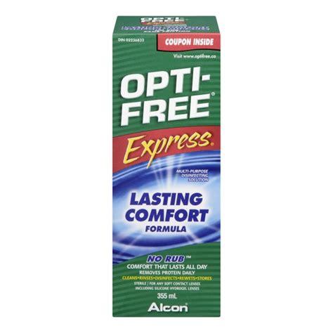 opti free express lasting comfort buy opti free express no rub lasting comfort formula in