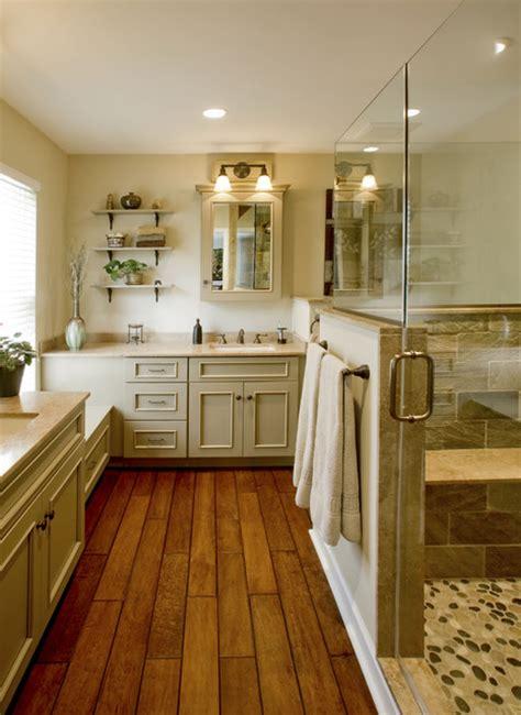 refined rustic master bath remodel ambler pa