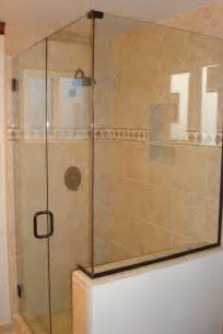 glass enclosed shower glass enclosed showers home decor