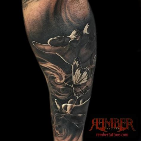 dark age tattoo magician by rember age studio tattoonow