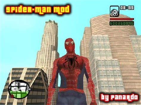 gta san andreas amazing spiderman mod 1.0 mod gtainside.com